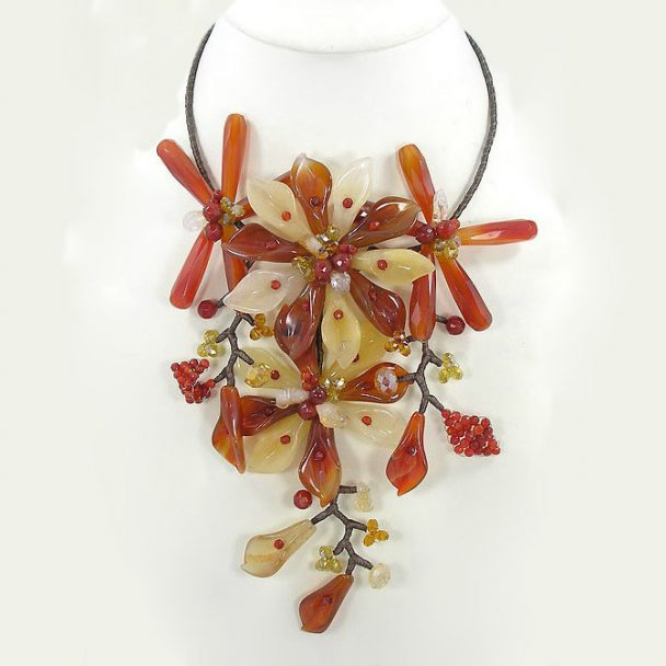 Summer Flowered Fantasy - Bejeweled By Gina